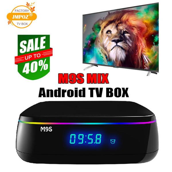 M9S MIX Amlogic S912 Octa core 2G/16G Android network TV Box WiFi BT4.0 2.4G/5.8G H.265 4K Smart Media Player Better S905X2 T95Q T9 X92 TX6