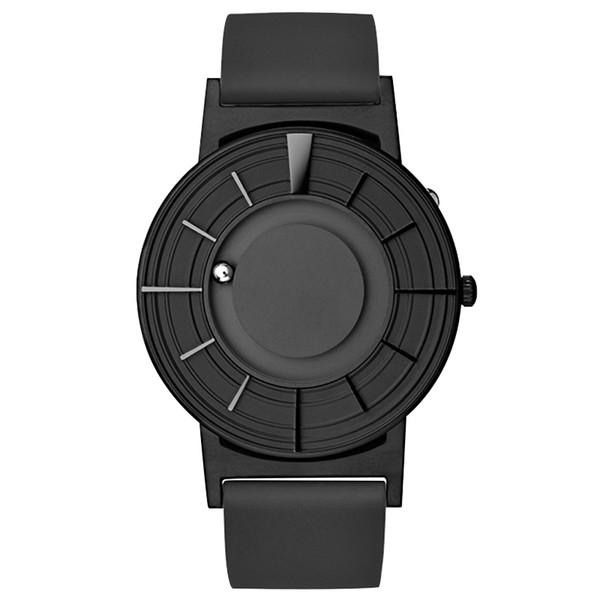 Черный силиконовый ремешок