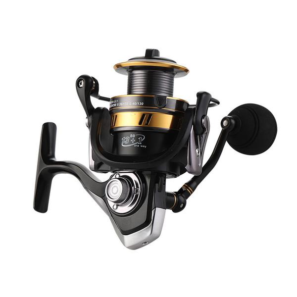 13 1 bb double spool fishing reel 5.5:1 gear ratio high speed spinning reel carp fishing reels for saltwater carretilha de pesca thumbnail
