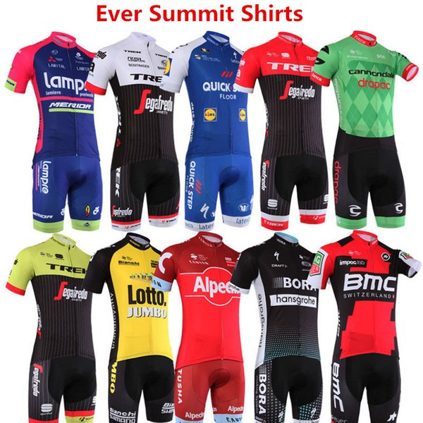 best selling Man cycling Jersey Motorcycle Racing Suit 2019 Tour de France team clothing spring summer men designer t shirts Tight Hight Quality 1817