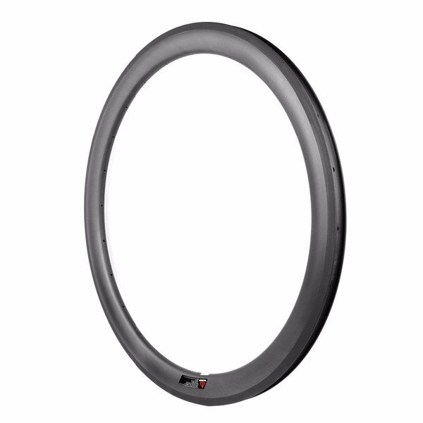 26mm outer width 40mm height 700c Carbon Rims For Road Bike Cyclocross Gravel Bicycle wheel Clincher Tubeless compatible carbon bike rim