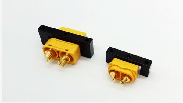 CNC XT60 XT90 conector de enchufe titular de la lámpara cubierta montaje para el modelo de RC