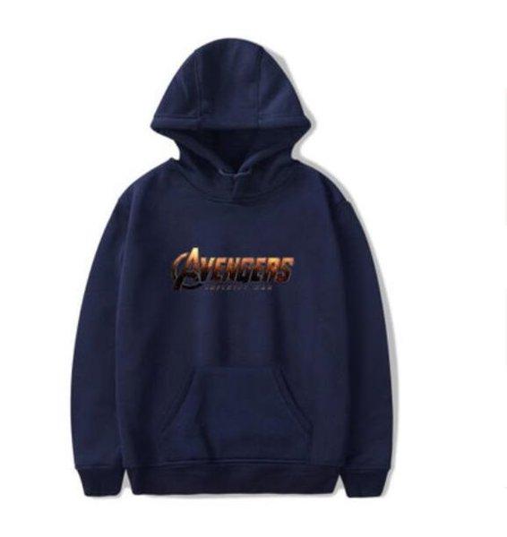 Aşıklar Rahat Hoodies pamuk malzeme Tişörtü Avengers Infinity Savaş baskı Leniency Kazak sıcak Tutmak Hoodie Eğlence kazak giymek