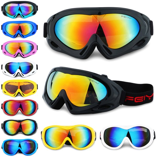 Kids Fashion Sand-proof Outdoor Sunglasses Sport Mountain Climbing Single Layer Ski Goggles Eye Protection Teenager Skiing Eyewear SS271