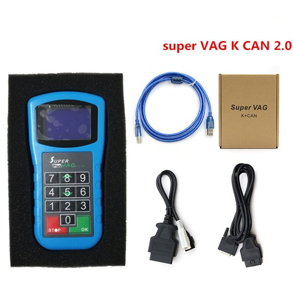 2019 Surper VAG K CAN Plus 2.0 Car Styling Professional Diagnostic tool Surper VAG K CAN Plus 2.0 with Best quality