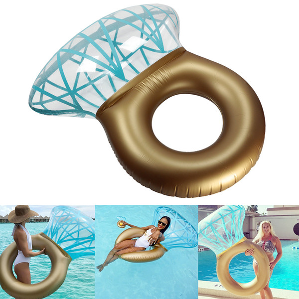 top popular Inflatable Floats & Tubes swim ring Inflatable Swimming Pool Float Water Sports 2021