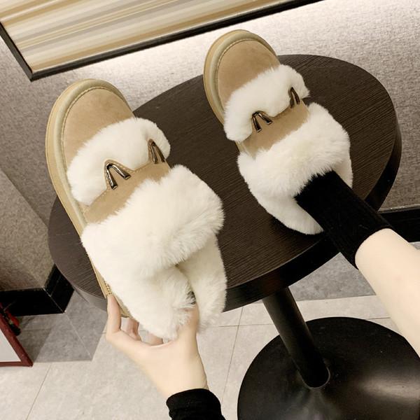 Femmes Australie Style Classique Bottes de neige d'hiver chaud en cuir Flats warterproof de haute qualité Bottines de grande taille