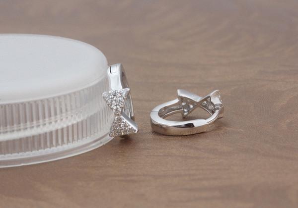 Süßwasserperlen 925 Silber Bowknot Schleife Dame Armband Geburtstagsgeschenk