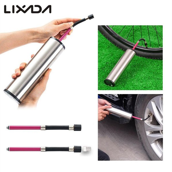 Lixada Mini automatic Bike Cycling Pump 12V Electric Mini Air Inflator with 150PSI Battery Digital Display Tire Pressure #186449