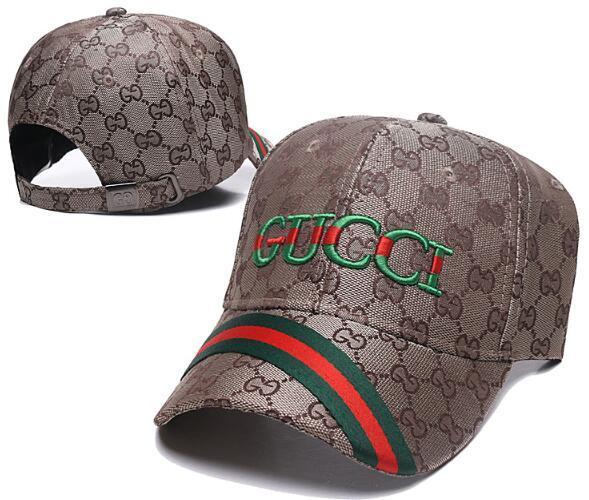 Designer di lusso di marca italiana Cappelli da baseball Cappelli da baseball Maglia da uomo e da donna Marchi famosi Casquette Regolabile Cranio Sport Golf Cappello curvo 51