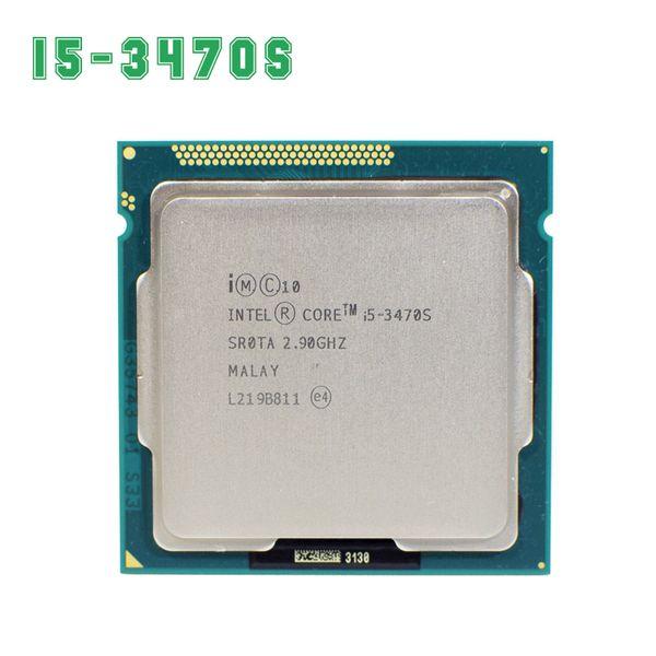 Intel Core i5 3470S 2.9GHz 5GT/s 4x256KB L2/6MB L3 Socket 1155 Quad-Core CPU