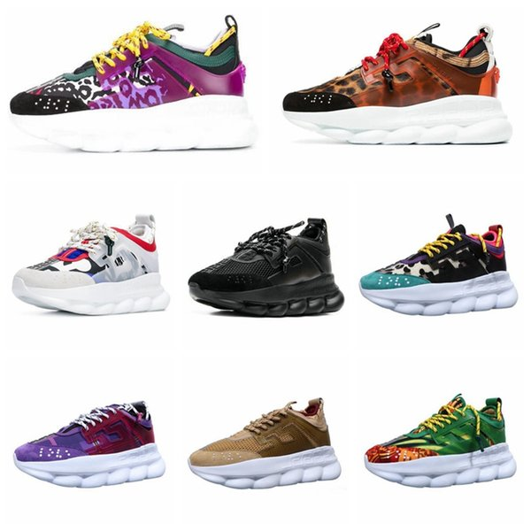 Kettenreaktion 2019 neue Mode Luxus Designer Damen Schuhe Herren Trainer Basketball Schuhe Mode Luxus Herren Damen Designer Sandalen Schuhe