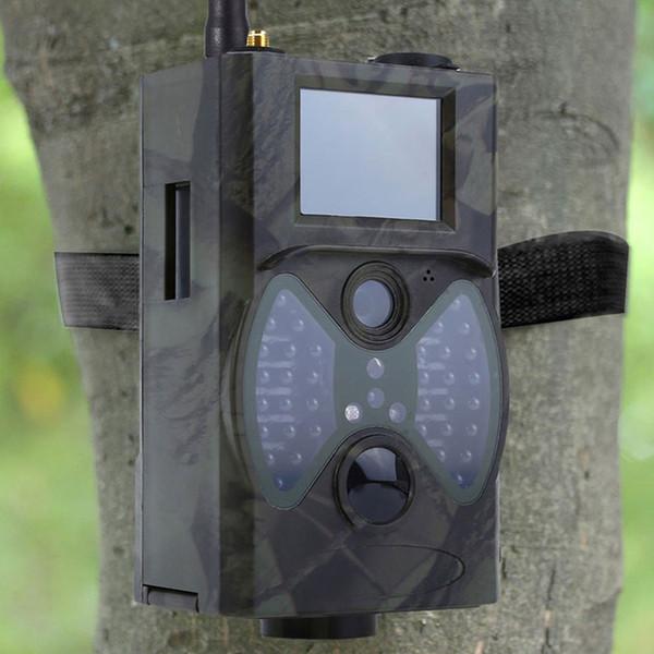12MP cámara de caza por infrarrojos con visión nocturna MMS Control remoto Mms Gsm GPRS 2G Trap Game Camera HC300M