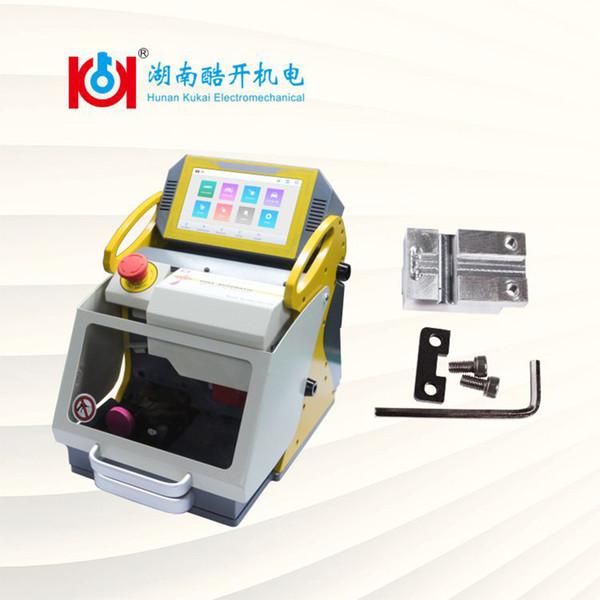 Kukai SEC-E9 Schlüsselfräsmaschine Mit VA2 Clamp 2019 Neue Bauschlosser-Werkzeugteile ist für Kopie Autoschlüssel Schiff aus China