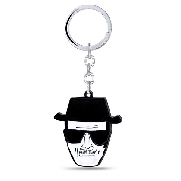 Breaking Bad Key Holder Car Keyring Walter White Key Chain