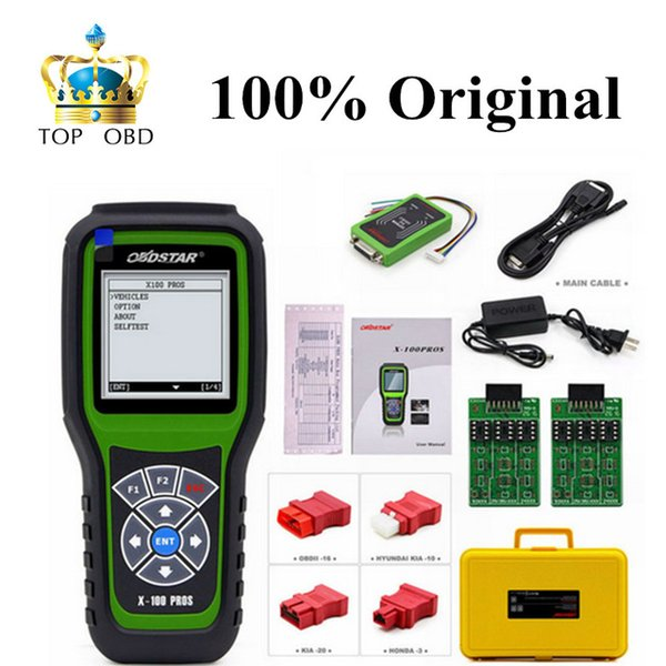 Original OBDStar X100 PROS C + D +E EPROM Model X-100 PROS Auto Key Programmer Odometer Correction Tool x100 pro Free Shipping