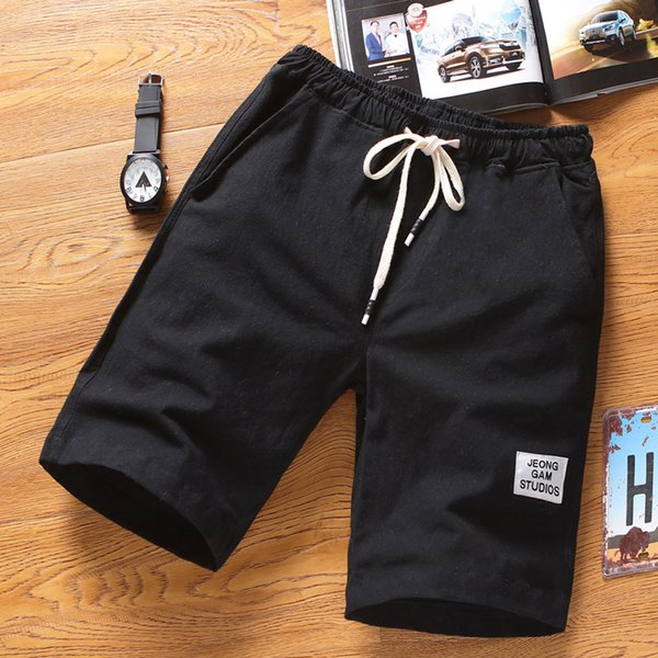 Mens Beach Pants Sports Breathable Fashion Pants Summer Fitness Running gyms Joggers sportswear Brand short 2019