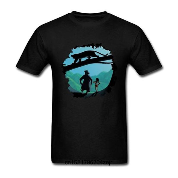 Men T shirt The Jungle Book Fan Art T Shirt Fashion short sleeved funny t-shirt novelty tshirt women