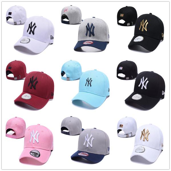 New York NY Yankees Beyzbol Şapka Nakış Yeni Chapeau Dönemi Sunhat Moda Beyzbol Şapkası Snapback Casquette