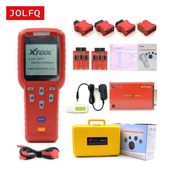 Promotion!! Xtool X100 PRO Auto Key Programmer X100+ Updated of X100 Programmer X-100 car key programming tools c+d+eprom