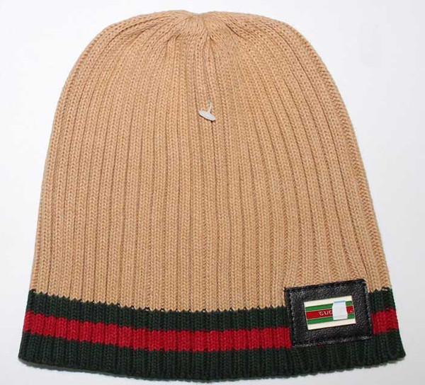 Унисекс осень зима шапка шляпа мужчины совершенно новые вязаные шапки повседневная классические черепа шапки лыжные gorros хип-хоп женщины капот шапочки оптом
