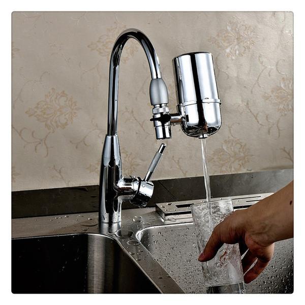 Leitungswasserreiniger Home Küchenfilter Wasserreinigungsgerät Wasserhahn Schmutzfänger Reinigungsmittel Abhängig von der Wasserqualität