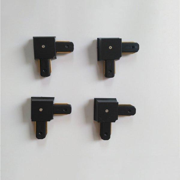4 adet siyah L konektörü