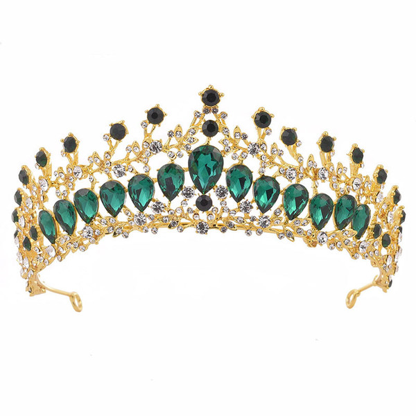 Gold Green Crown
