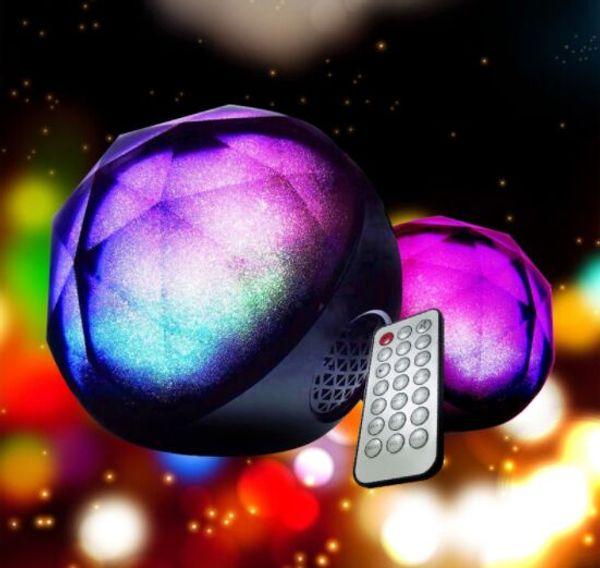 Colorfull Sky Remote LED Night lamp Starry Master bluetooth USB Powered Diamond Music box Speaker WITH decoracion TF card light