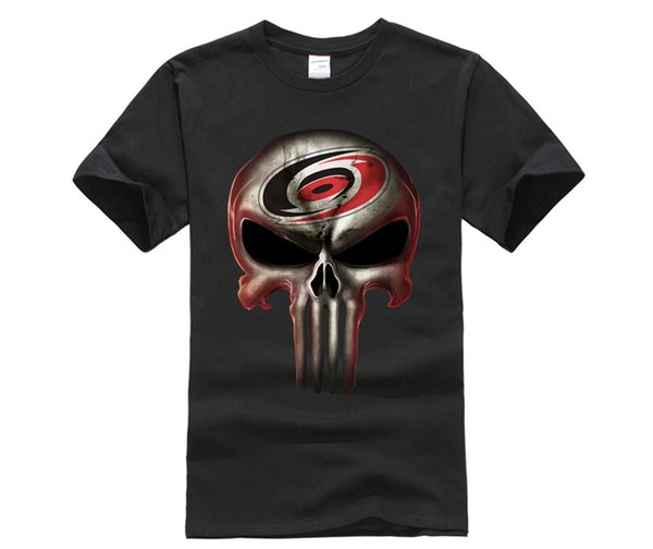 Carolina Hurricanes The Punisher Mashup Ice Hockey Shirts