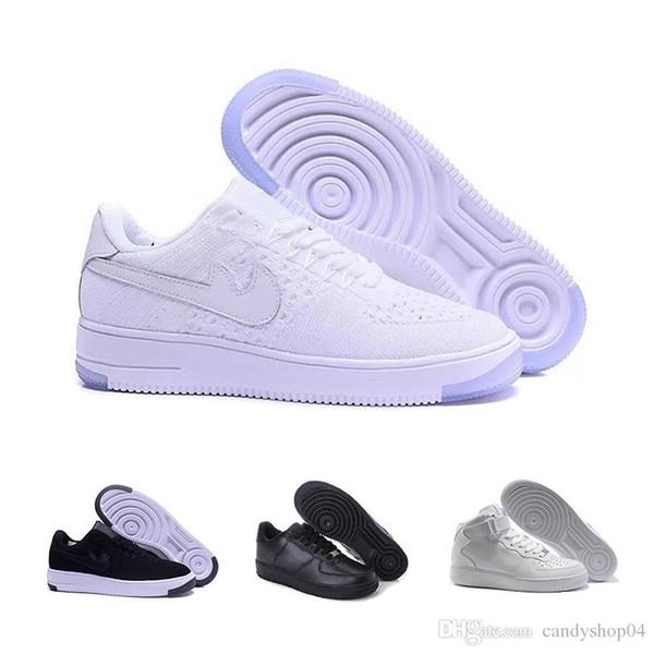 Parte superior de piel Zapatos Hombre NIKE SNEAKERS BLANCO