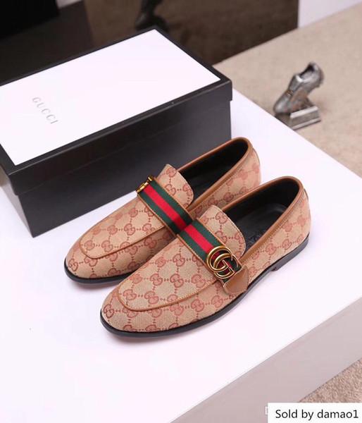 19ss luxo designer de marcas elegante couro homens oxford italiana de calçado escritório vestido formal sapatos negro pendão