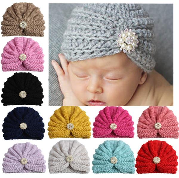 2018 nouvelle vente chaude européenne et américaine de couleur pure forés bébé Inde CAP bébé cap