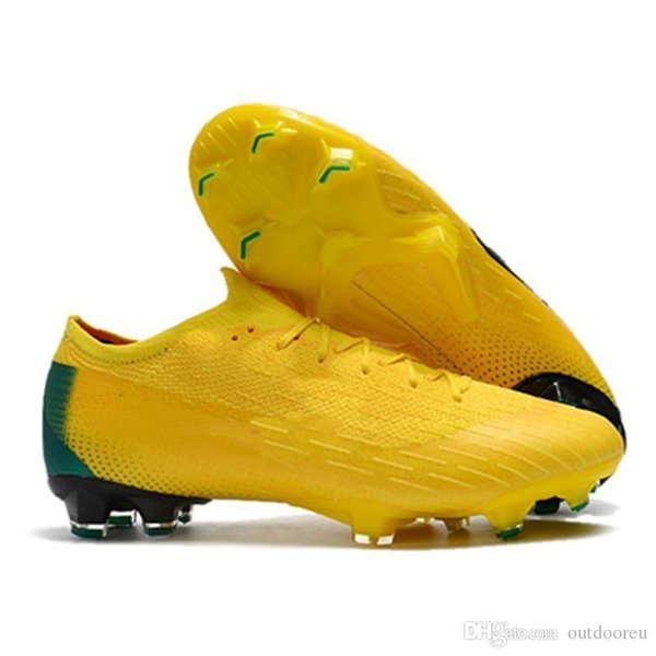 High Ankle Football Boots Mens Mercurial Superfly VI 360 Elite Neymar FG Soccer Shoes Superfly CR7 Outdoor ACC World Cup Soccer Cleats-asdqw