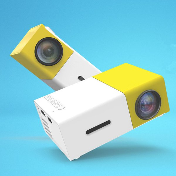 Portable Mini LCD LED Projector YG300 YG-300 400-600LM 1080p Video 320 x 240 Pixel Best Home Proyector