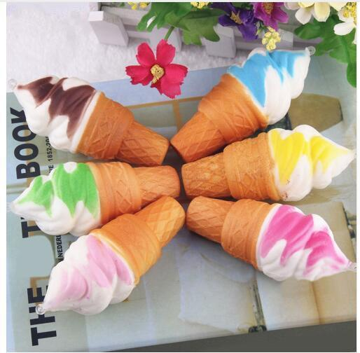Jumbo Ice Cream Squishy Squeeze Slow Rising Toy for Relieves Stress Squishies Toys Decompression Toy Kids Toys