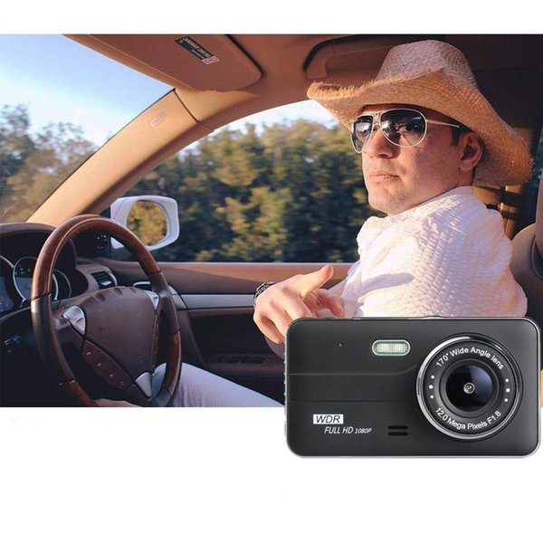 NEW HD Dual Lens Car Camera Vehicle DVR Dash Cam Two Lens Video Recorder F600 US