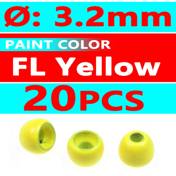 20pcs FL Yellow 3.2