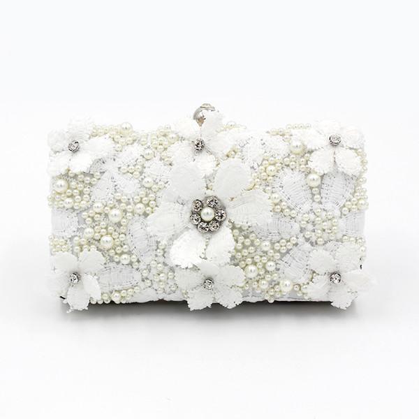 New-Style Perlenstickerei Abendtasche, Eventing Tasche, handgemachte Bankette, Blumenhandtasche
