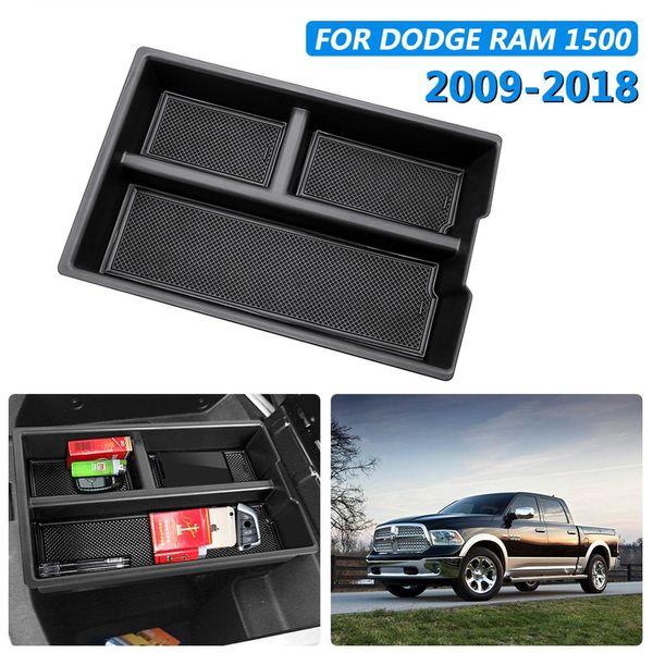 Car bracciolo centrale secondaria Storage Box Guanto Pallet Center Console vassoio divisore per Dodge 1500 Accessori 2009-2018