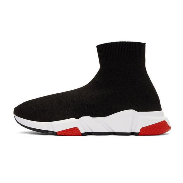 2020 designer sock shoes fashion men women sneakers triple white yellow navy glitter mens trainers casual runner heavy sole t13