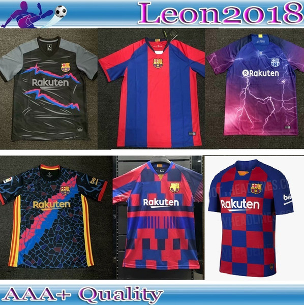 check out 2811a 56aaf 2019 Retro 1998 2019 Barcelona Jersey 99 19 20 Messi Suarez COUTINHO  O.DEMBELE Special Edition Football Jerseys Shirt. From Skyyu2018, $17.37 |  ...