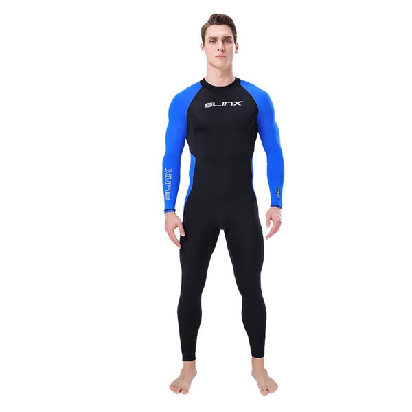 top popular 3MM Neoprene Wetsuit One-Piece and Close Body Diving Suit for Men Scuba Dive Surfing Snorkeling Spearfishing Plus Size 2021