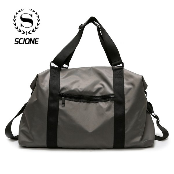 Scione Basit Katı Seyahat Çantaları Kabin Bagaj Crossbody El Bavul Erkek Kadın Büyük Kapasiteli Klasik Pratik Omuz