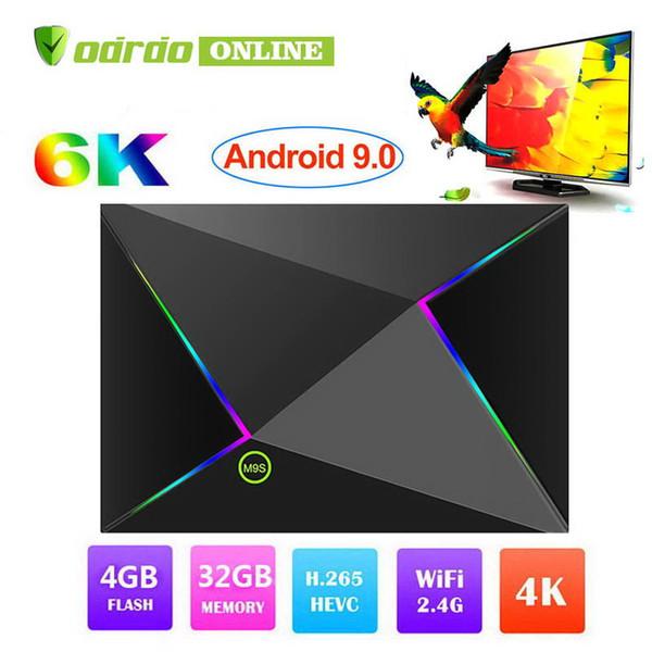 New Cheapest M9S Z8 Allwinner H6 Quad Core 4GB 32GB 64GB Android 9.0 tv box 2.4G Wifi Android tv Box 3D 4K 6K Smart Set Top Box PK S905X2