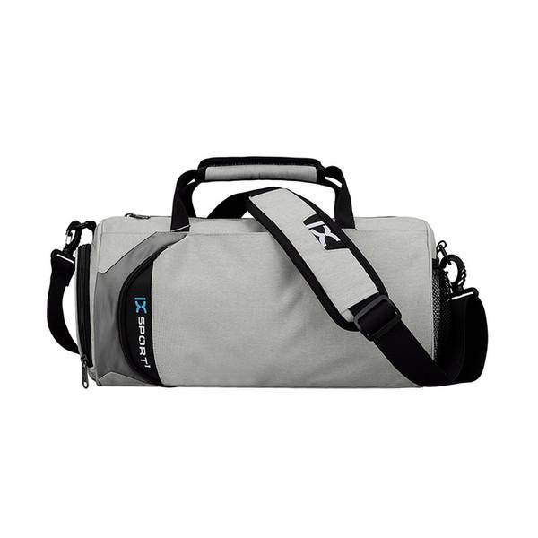 Dry Wet Cylindrical Sport Bag Men For Gym Sport Bags For Fitness Portable Shoulder Bag Handbag With Shoes Storage Duffel #290392