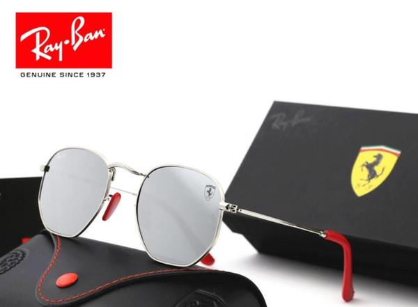 Occhiali da sole da uomo vintage in alluminio polarizzati occhiali da sole classici occhiali da sole drive drive da uomo / donna