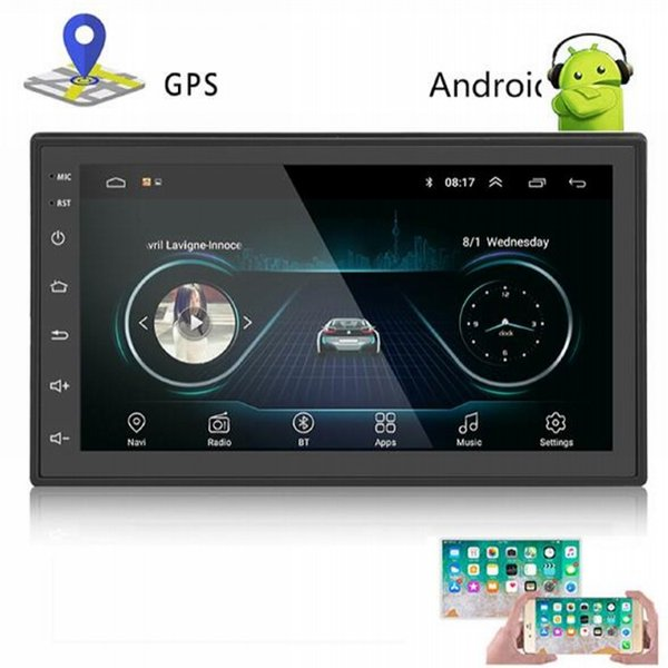HD 7 Zoll Auto Wifi Android GPS Navigation Bluetooth LKW GPS Navigator FM MP4 MP3 Video Player