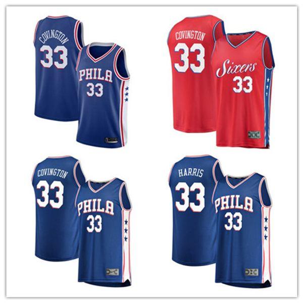 coutume 2019 Philadelphie Hommes76ers 30 Furkan Korkmaz Fanatics Branded Royale rapide joueur Pausenba basket-ball couture Jersey