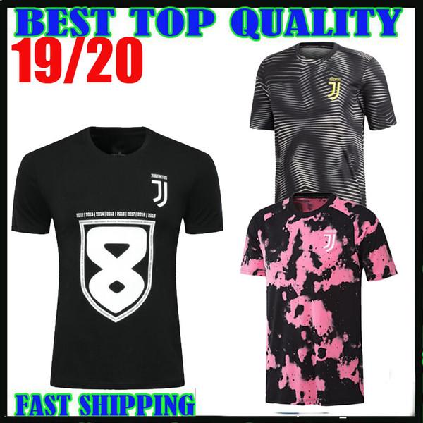09debb19fc28b 19 20 juventus formação camisas 8 campeões camisa tee camisa de futebol  2019 2020 ronaldo dybala